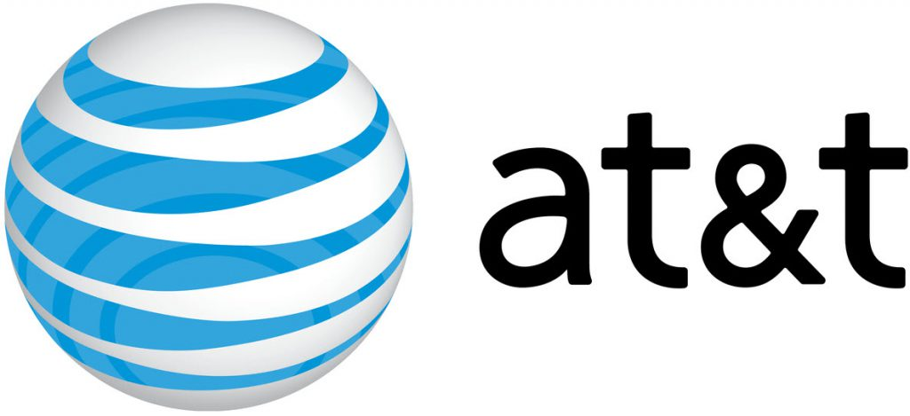 AT&T Logo as Nextech Navigate sponsor