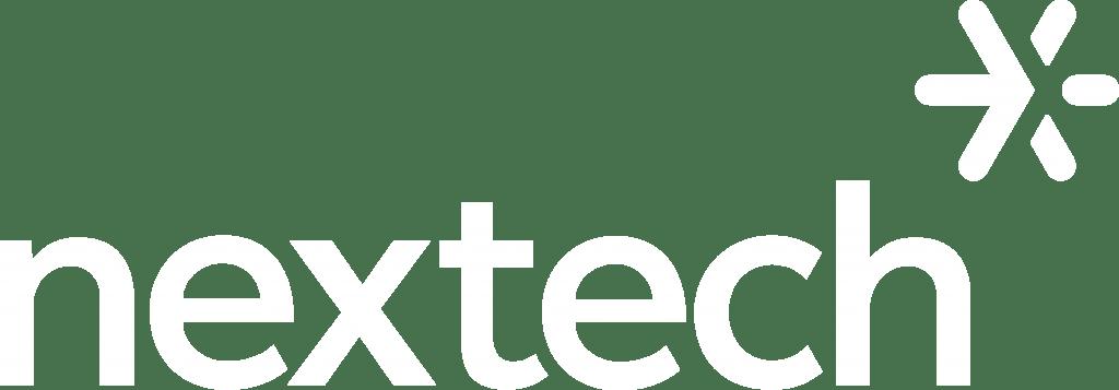 White Nextech Logo