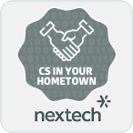 Nextech CS in Your Hometown Badge