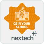 Nextech CS in Your School Badge