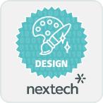 Nextech Design Badge