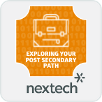 Nextech Exploring Your Post Secondary Path Badge